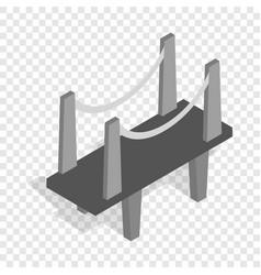 Scaffolding isometric icon vector