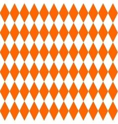 Tile orange pattern vector