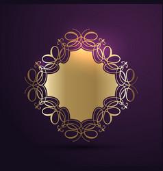 decorative background design vector image