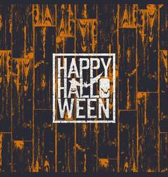 Happy halloween holiday card 31 of october vector