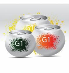 soda pop vector image