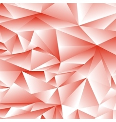 Abstract Red Polygonal Background vector image vector image