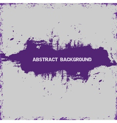 violet paint abstract vector image