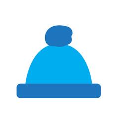 winter hat icon vector image