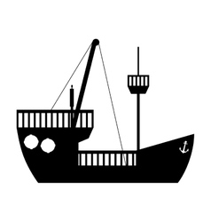 Ship boat icon image vector