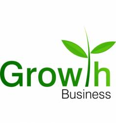 Growth symbol vector