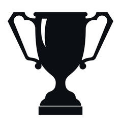 Ancient trophy cup icon vector