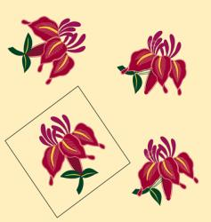 Floral assortments vector