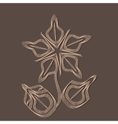 Geometry flower vector
