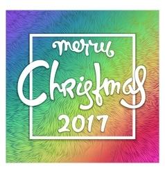 Celebratory christmas design vector