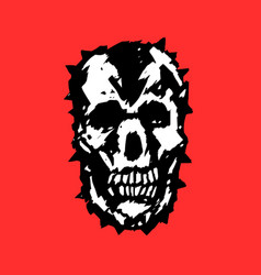 Demon skull vector