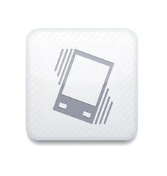 White vibration icon eps10 easy to edit vector