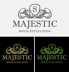 Royal majestic logo vector