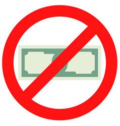 Prohibition of cash vector