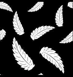 monochrome black and white composition vector image