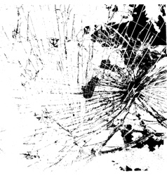 Glass Broken Texture vector image
