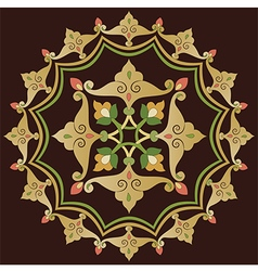 Twelve series designed from the ottoman pattern vector