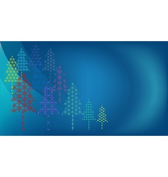 Colorful background for christmas vector