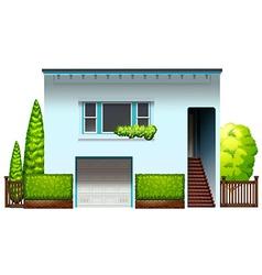 A modern house vector