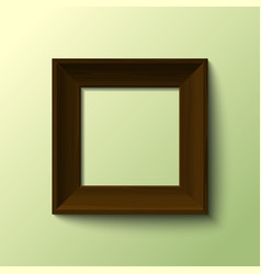 Frame for picture vector