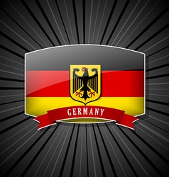 German icon vector image