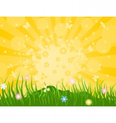 spring6 vector image vector image