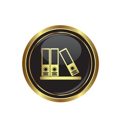 Folders icon vector image