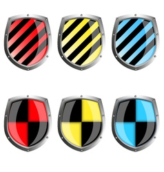 Guard icons vector