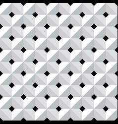 Seamless 3d geometric pattern vector