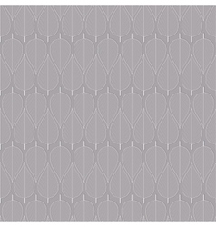 Seamless simple leaf pattern vector image vector image