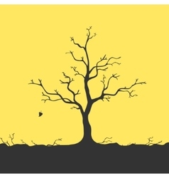 Tree Without Leaves vector image