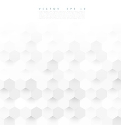 Abstract color 3d hexagonal vector