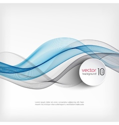 Abstract wave template background brochure design vector image vector image