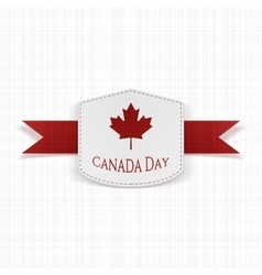 Canada day sale modern graphic label vector