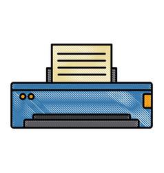 Computer printer device vector