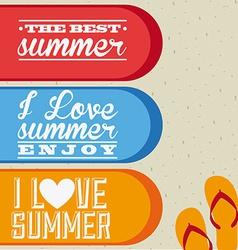 Summer day vector