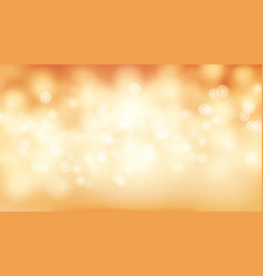 Orange sweet bokeh out of focus background vector