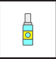 Women lubricating gel or female lubricant icon vector