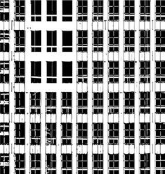 Block of flats vector