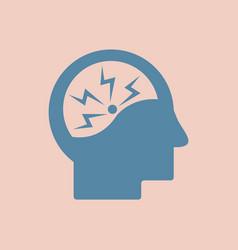 Cause of disease in the brain various symptoms of vector