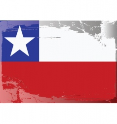 chile national flag vector image vector image