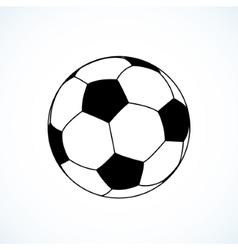Icon of soccer ball vector