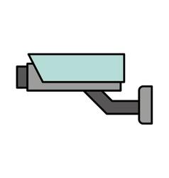Security cam cctv system icon vector