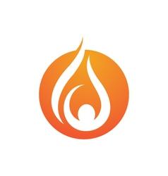 - oil gas and energy logo concept vector