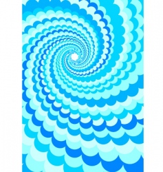 abstract background water twirl vector image