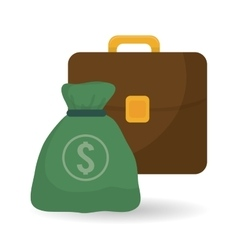 Money design business icon financial item vector