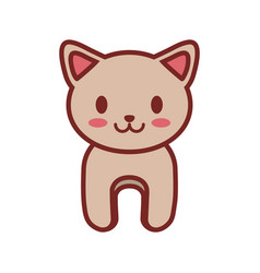 Cartoon cat animal image vector