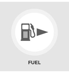 Fuel flat icon vector image
