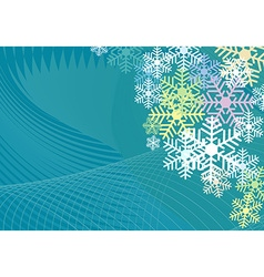 Colorful Background for christmas vector image