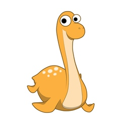 Elasmosaurus cartoon vector image